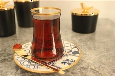 Koleksiyon Dervish İznik 6 Lı Çay Seti Renkli